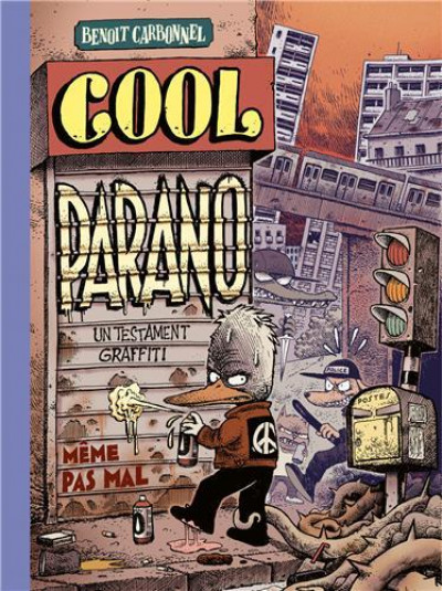 Couverture Cool parano - un testament graffiti