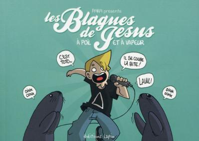 Couverture Les blagues de Jésus tome 2