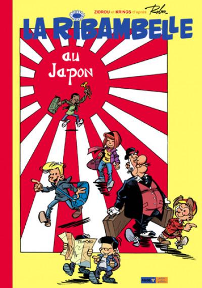 image de la ribambelle tome 2 - au japon - version luxe