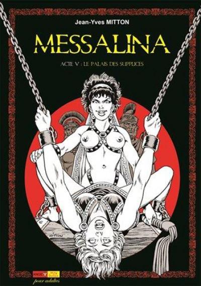 Couverture Messalina tome 5 - Le palais des supplices