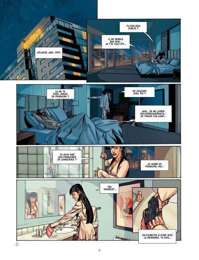 Page 4 Assassin's Creed Tome 6 - Leila