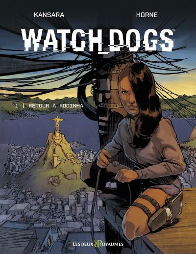 Couverture Watch Dogs tome 1