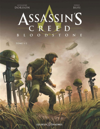 Couverture Assassin's creed - Bloodstone tome 1