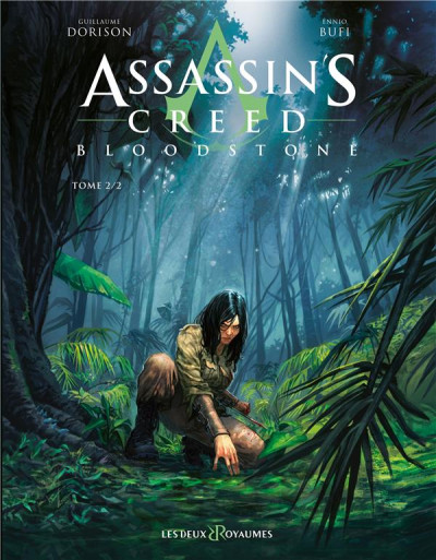 Couverture Assassin's creed - Bloodstone tome 2
