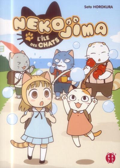 Couverture Nekojima - l'ile des chats