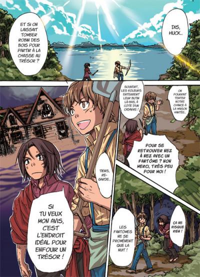 Page 1 Les aventures de Tom Sawyer