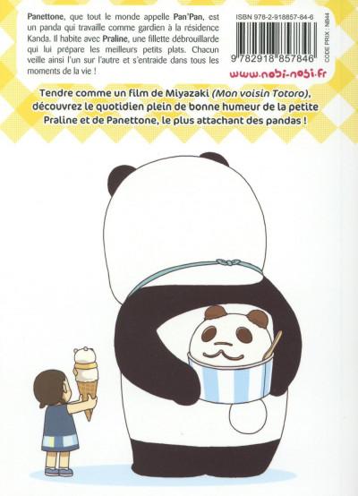 Dos Pan'Pan Panda - une vie en douceur tome 6