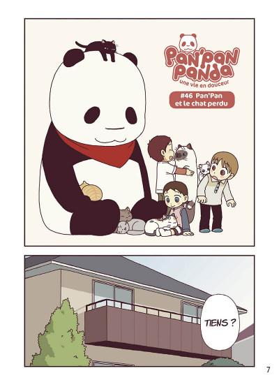 Page 8 Pan'Pan Panda - une vie en douceur tome 6