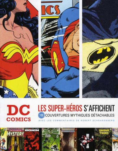 Couverture DC comics ; le livre poster