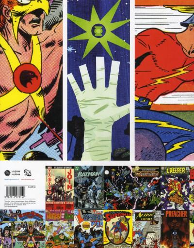 Dos DC comics ; le livre poster