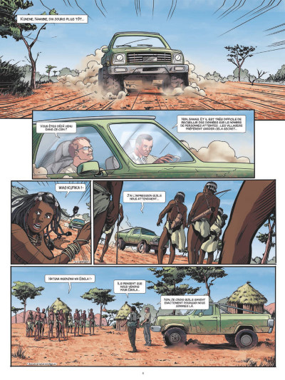 Page 2 Fièvre tome 1