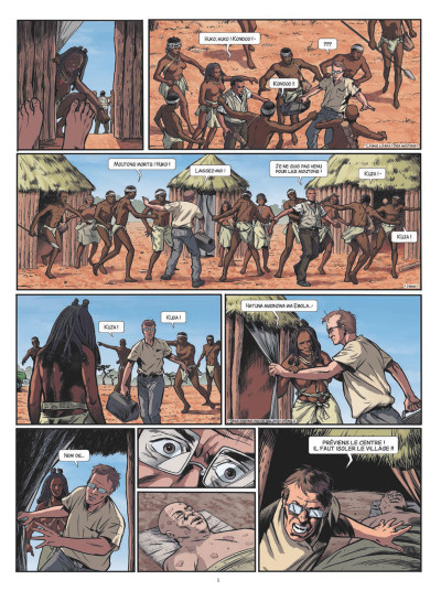Page 3 Fièvre tome 1