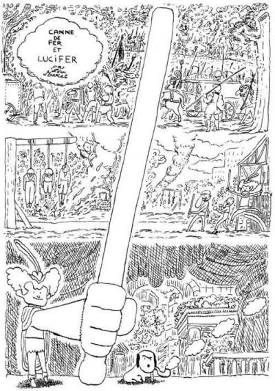 image de canne de fer et Lucifer