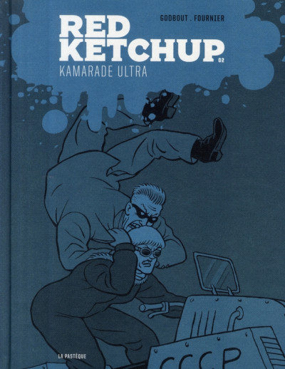 Couverture red ketchup tome 2 - kamarade ultra