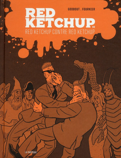 Couverture Red Ketchup tome 3 - Red Ketchup contre Red Ketchup
