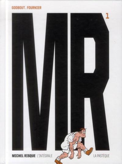 Couverture Michel Risque - intégrale tome 1