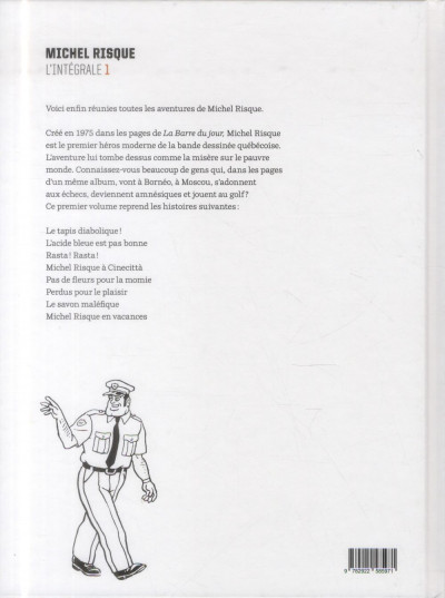 Dos Michel Risque - intégrale tome 1