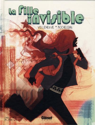 image de la fille invisible