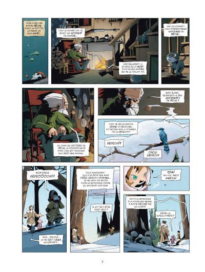 Page 1 Le mangeur d'âmes tome 1