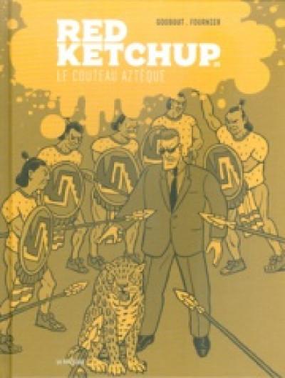 Couverture red ketchup tome 5 - le couteau aztèque