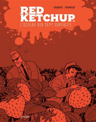 Couverture Red Ketchup tome 6 - l'oiseau aux sept surfaces
