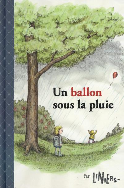 Couverture Un ballon sous la pluie