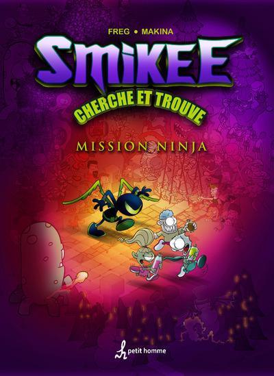 Couverture La bande à Smikee - cherche et trouve