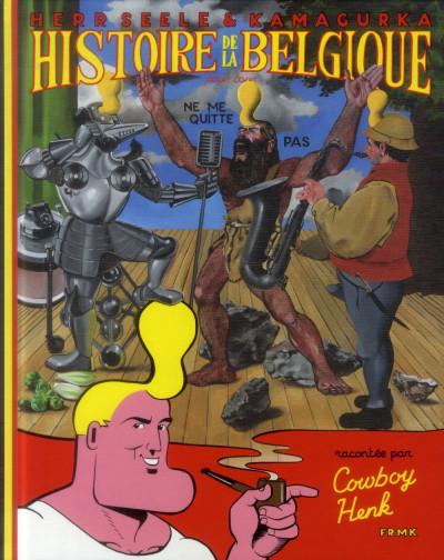 Couverture histoire de la Belgique