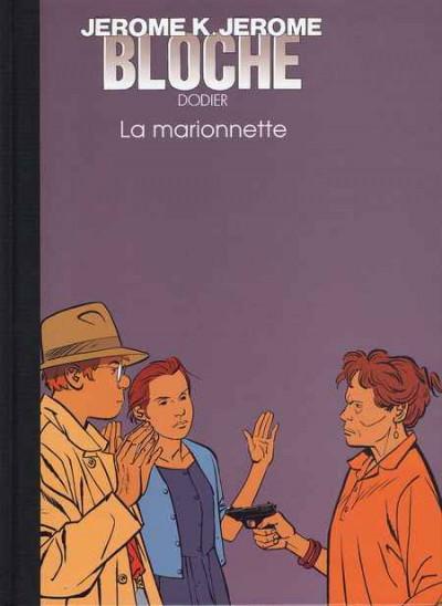 Couverture Jérôme K. Jérôme Bloche - tirage de luxe tome 17 - La marionnette