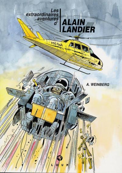 Couverture alain landier tome 2