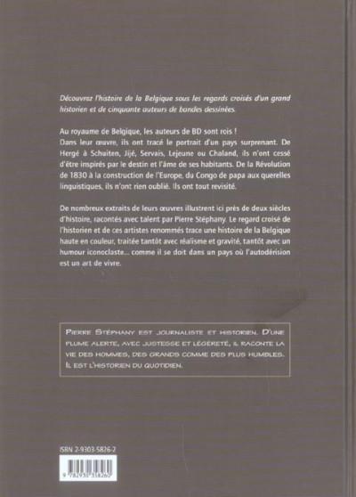 Dos l'histoire de belgique au fil de la bd ; de 1830 à nos jours