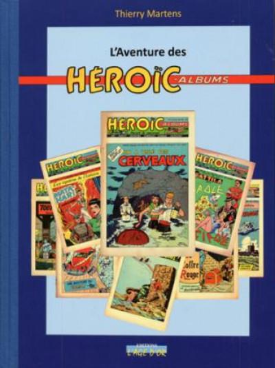 Couverture l'aventure des heroïc-albums
