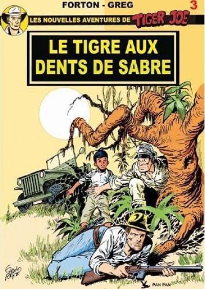 Couverture Tiger Joe tome 3 - le tigre aux dents de sabre
