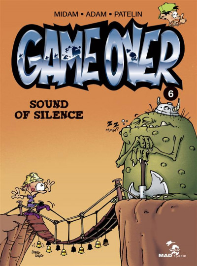 Couverture game over tome 6 - sound of silence