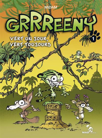 Couverture Grrreeny tome 1