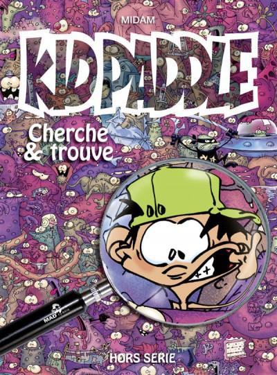 Couverture Kid Paddle, cherche et trouve