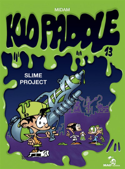 image de Kid Paddle tome 13 - slime project