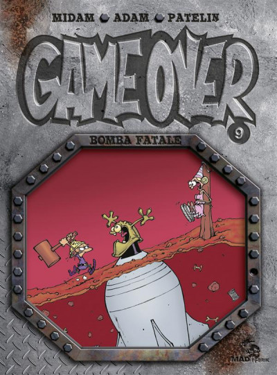 Couverture Game over tome 9 - bomba fatale