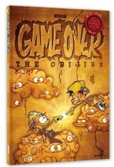 Couverture game over, the origins