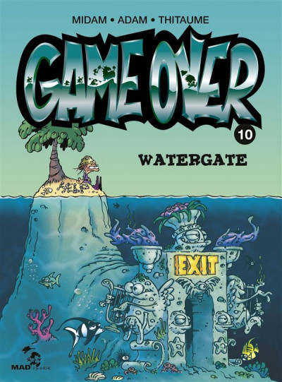 Couverture game over tome 10 - Water Gate