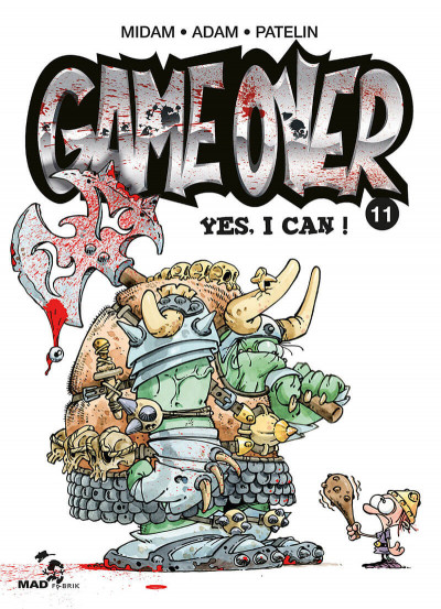 image de game over tome 11 - yes, I can