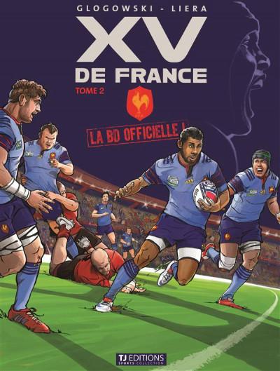 Couverture La BD officielle du XV de France tome 2