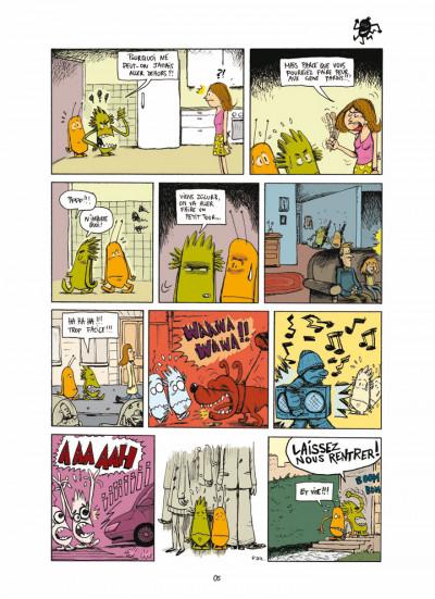 Page 1 Lili & Crok le monstre Tome 1 - Même pas peur