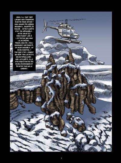 Page 3 Nynatak tome 1 - Les évadés du passé