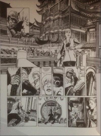 Couverture Ghost Money tome 4 - La prisonnière tashkite (éd. 2014)