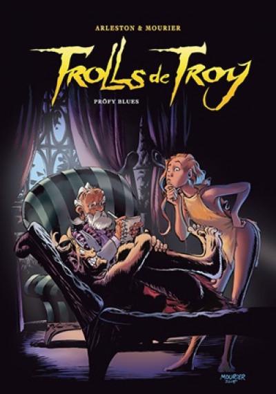 Couverture Trolls de Troy - tirage de tête tome 18 - Pröfy blues