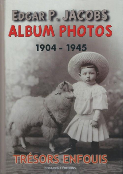 Couverture Edgar P. Jacobs - album photos tome 1