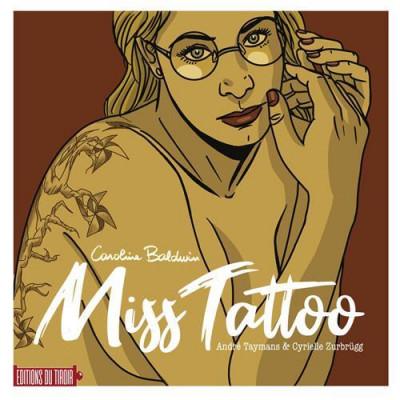 Couverture Caroline Baldwin artbook - Miss Tattoo