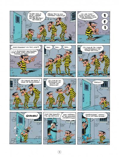 Page 5 lucky luke ; l'amnésie des dalton