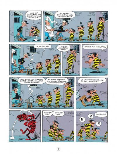Page 6 lucky luke ; l'amnésie des dalton